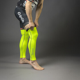 GripGrab Classic Hi-Vis Leg Warmers Fluo Yellow